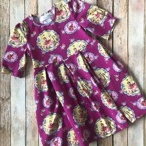 Other - Girls vintage style pattern dress size 5